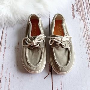 SPERRY Halyard Canvas Boat Shoes